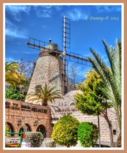 Rehavia Windmill-the Rehavia neighborhood, Jerusalem.