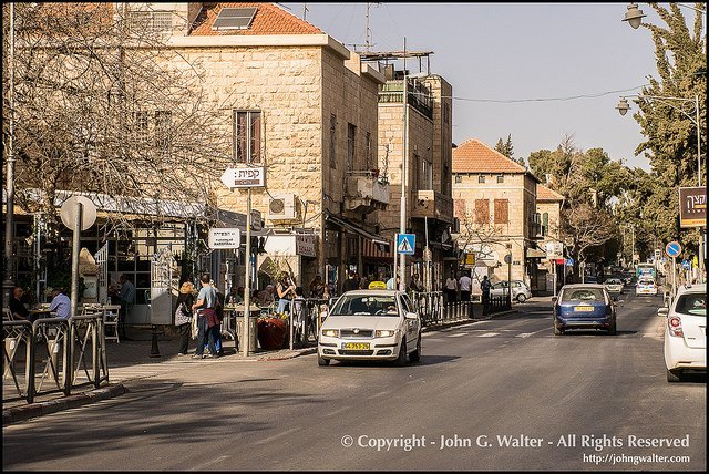 Emek Refaim Street-The Old Katamon Neighborhood of Jerusalem