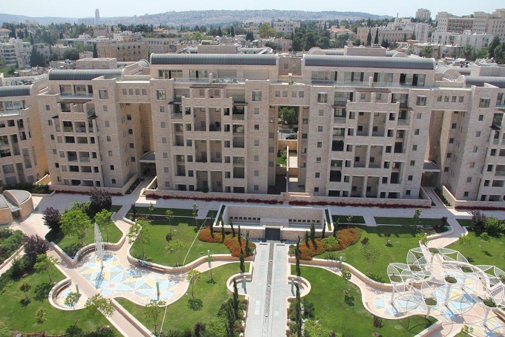 King David Crown Complex- Mamilla neighborhood of Jerusalem