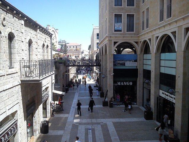 Mamilla Mall-Mamilla neighborhood of Jerusalem