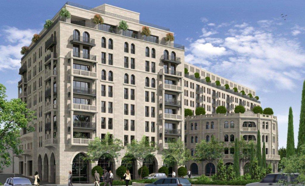 Waldorf Astoria Residence- Mamilla neighborhood of Jerusalem