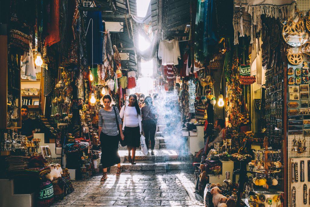 Arab Shuk - the Old City of Jerusalem