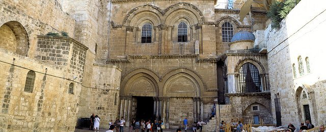 Church of the Holy Sepulchre-the Old City of Jerusalem